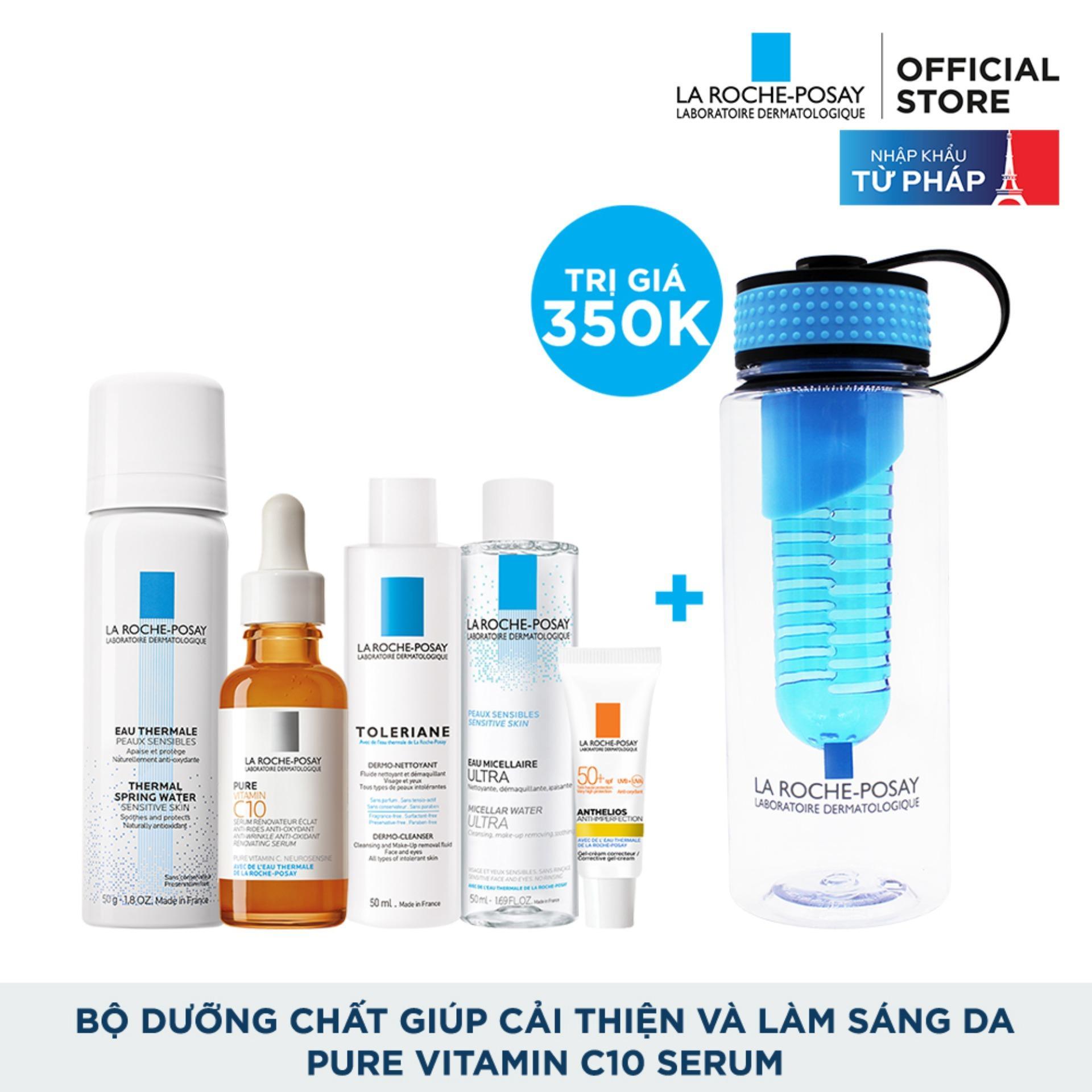Coupon Khuyến Mại Bộ Dưỡng Chất Giúp Cải Thiện Và Làm Sáng Da La Roche Posay Pure Vitamin C10 Serum