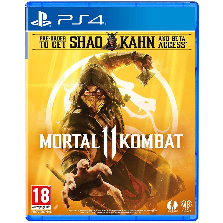 Đĩa Game PS4 - Mortal Kombat 11