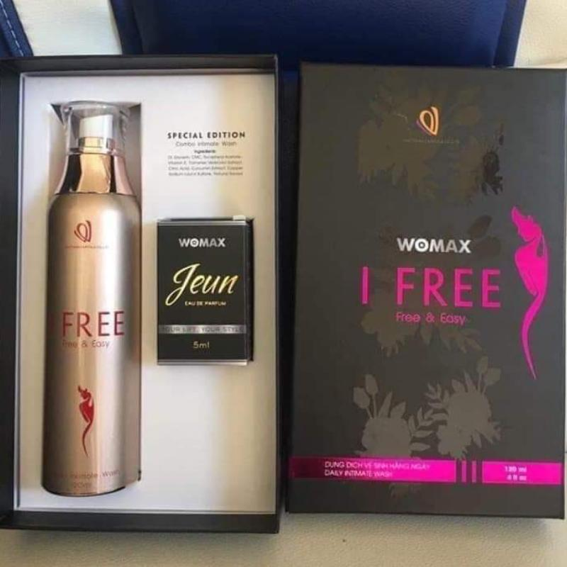 DUNG DỊCH VỆ SINH PHỤ NỮ I FREE