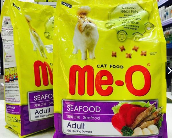 Hạt Khô Cho Mèo Vị Hải Sản Me-O 450g