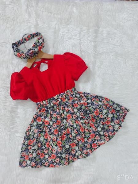 Đầm bé gái⚡Freeship+ Tặng kèm tuban⚡Váy bé gái VN thiết kế loại 1