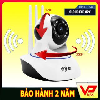 Bảo hành 2 năm - Camera Wifi chuẩn HD giám sát an ninh báo động EYE kèm thẻ nhớ tuỳ chọn - vpmax thumbnail