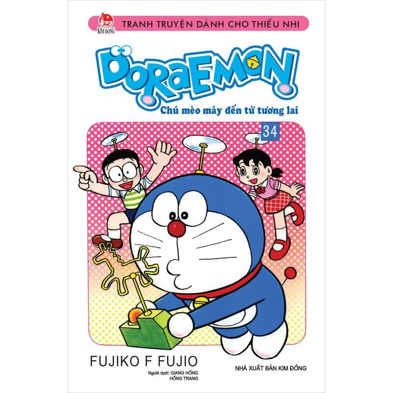 Sách - Doraemon Truyện Ngắn - Tập 34