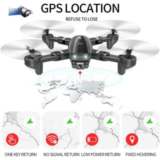 Máy bay flycam 4k, Flycam Camera 4K S167 G.P.S,Máy Bay Điều Khiển Từ Xa Không Người Lái CSJ S167 Định Vị G.P.S - Kết Nối Wifi Máy Bay Chụp Anh Quay Phim Ultra HD 4K Camera Đèn LED Cao Cấp. Hình Ảnh Siêu Nét (Hàng Chính Hãng) thumbnail