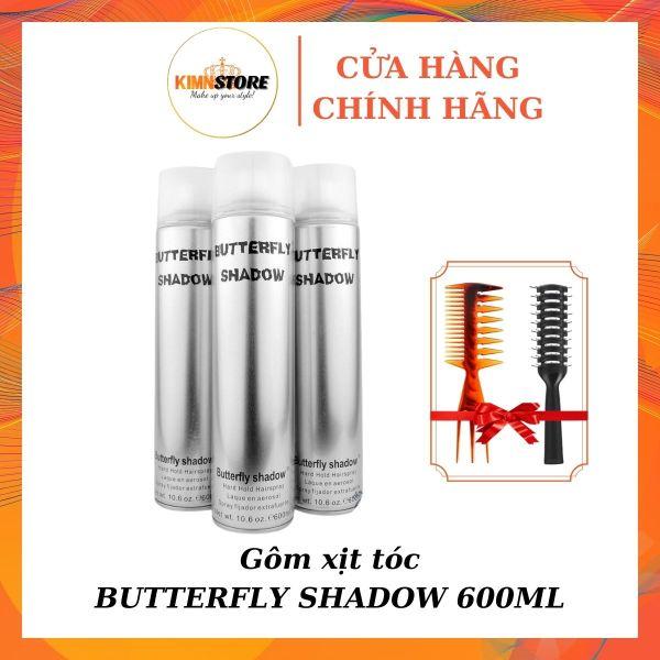 Gôm xịt tóc Butterfly Shadow 600ml - Gôm xịt tóc, keo xịt tóc nam nữ giá rẻ