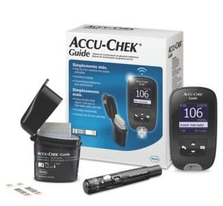 Máy đo đường huyết Accu-chek Guide mg dl tặng 25 que thử 25 kim lấy máu thumbnail