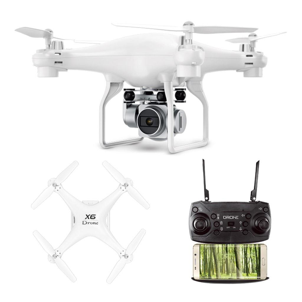 Pomel X6 2.4G Wifi FPV Wide Angle 5MP 1080P Camera Large Capacity RC Quadcopter