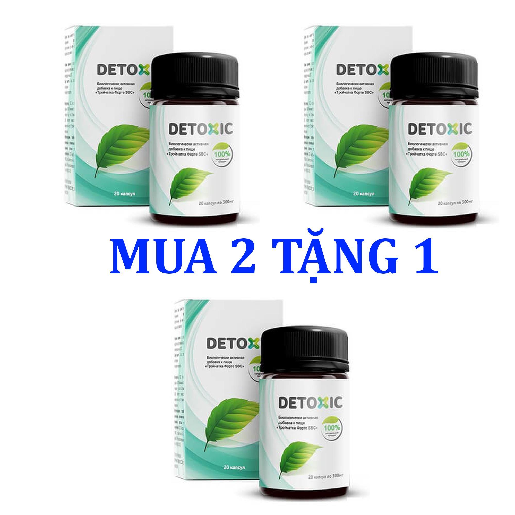 [MUA 2 TẶNG 1] Detoxic Chế Phẩm Diệt Ký Sinh Trùng Của Nga (Hàng Xách Tay)
