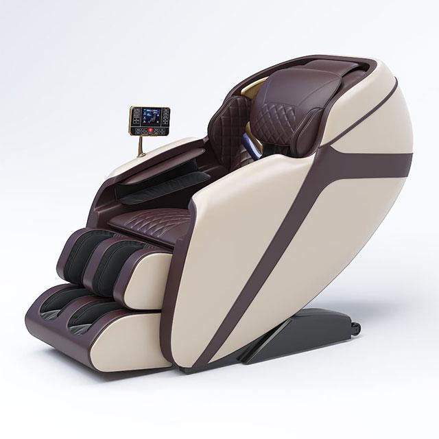 [ Ghế Massage Cao Cấp Trục SL ] Ghế massage toàn thân cao cấp  trục SL, công nghê bị lăn 4D tân tiến, ghế massage không trọng lực (zero gravity)