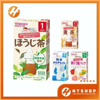 Trà Wakodo Nhật Bản Cho Trẻ Trong Độ Tuổi Ăn Dặm Dạng Hộp thumbnail
