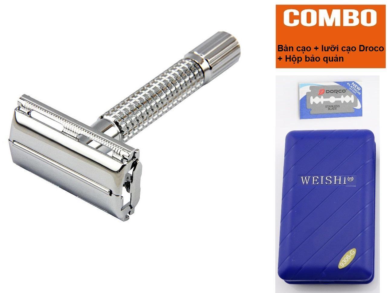 Dụng cụ cạo râu truyền thống Weishi 9306 dụng cụ không thể thiếu giành cho phái mạnh[HB][SVE] giá rẻ