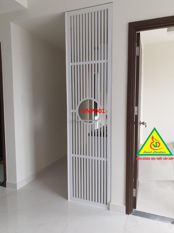 Vách ngăn phòng khách, nhà bếp, phòng ngủ - Nội thất lắp ráp Viendong Adv