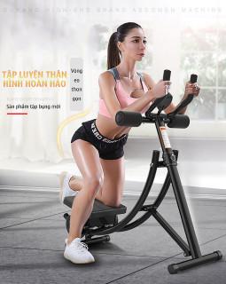 Máy tập bụng đa năng - Dụng cụ tập Gym tại nhà - Chất liệu thép chịu lực cao + Tặng kèm khăn lạnh thể thao cao cấp thumbnail