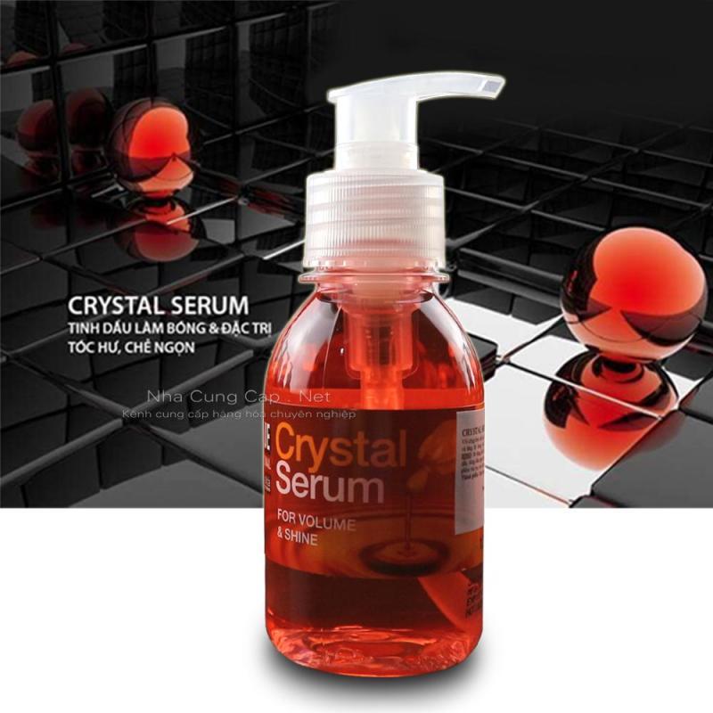 Tinh dầu dưỡng tóc Unitque Crystal Serum Hồng nhập khẩu