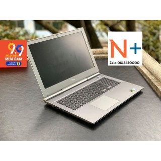 Laptop Dell Vostro 7580 i5-8300H, RAM 8GB, HDD 1TB + SSD 128GB, VGA NVIDIA GTX 1050 4GB, màn 15.6 inch FHD thumbnail