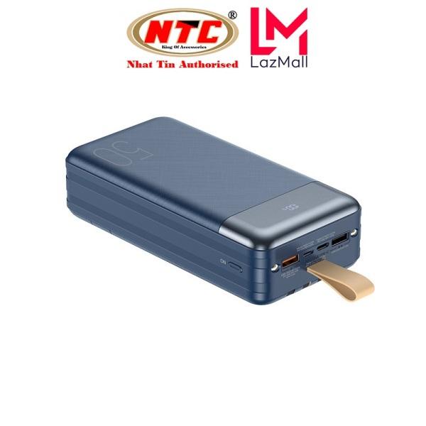 Pin sạc dự phòng Remax RPP-200 50000mAh QC22.5W PD20W, 3 Inputs 6 Outputs, lõi Li-Polymer (Xanh) - Nhat Tin Authorised Store