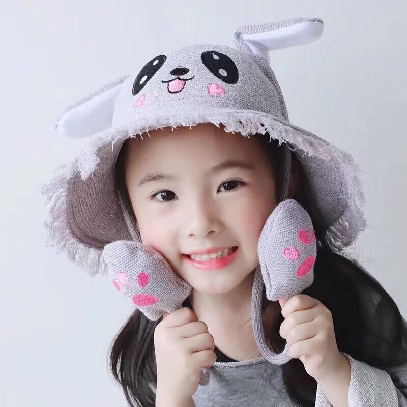 Mũ (Nón) Tai Thỏ Giật Tik Tok Siêu Đáng Yêu Dành Cho Bé