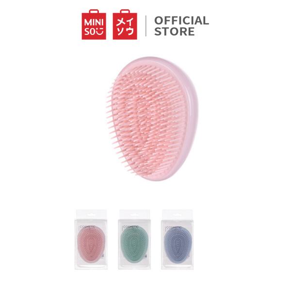 Lược chải tóc Miniso hình giọt nước 36g (Màu ngẫu nhiên)