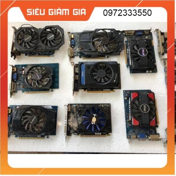 Bảng giá Vga NVIDIA 430/630 TRỞ LÊN và AMD 1G 2G DR3 DR5 CÁC HÃNG Phong Vũ