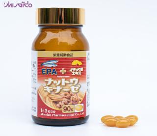Thực phẩm bảo vệ sức khỏe Natto Kessen Shiseido Pharma Nhật Bản SP02 thumbnail