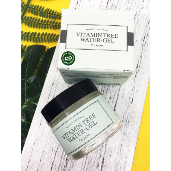 Kem dưỡng Vitamin Tree water gel thành phần của sản phẩm hoàn toàn lành tính và an toàn cho người sử dụng chất lượng và công dụng của sản phẩm đảm bảo như mô tả nhập khẩu