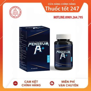Viên uống PENIRUM A+ hỗ trợ sức khoẻ sinh lý nam giới thumbnail