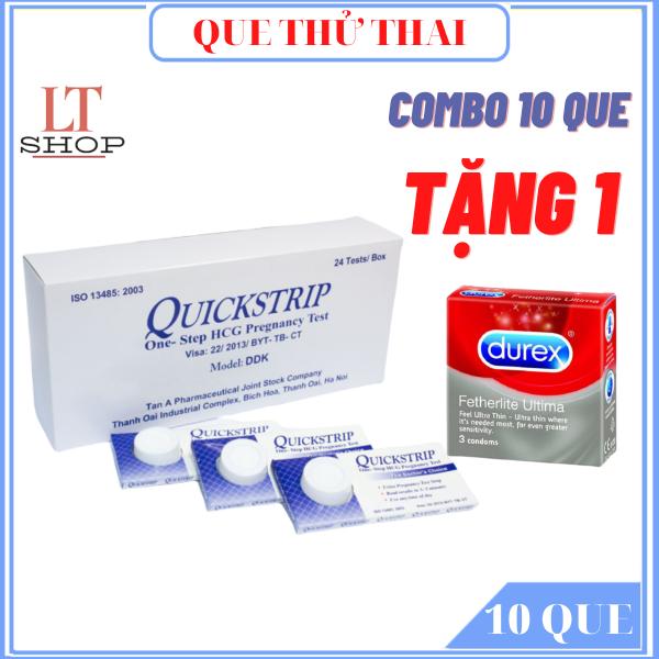 QUE THỬ THAI COMBO 10 QUE