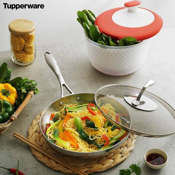 Chảo T Chef Series Frypan 24cm Nắp kính