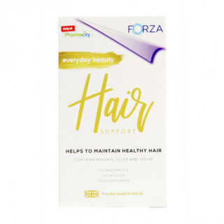 [ NHẬP KHẨU ANH QUỐC] Hộp 30 viên FORZA Hair Support - giúp hỗ trợ sức khỏe và kích thích mọc tóc, giảm nguy cơ rụng tóc đồng thời nuôi dưỡng mái tóc ngày càng chắc khỏe thumbnail