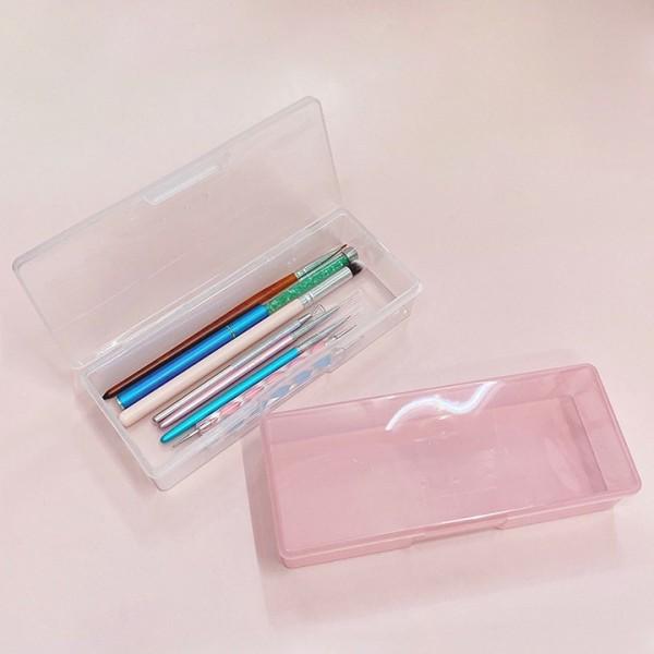Hộp nhựa đựng dụng cụ làm nail chuyên dụng giá rẻ