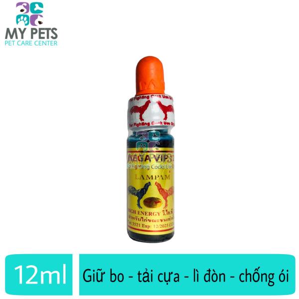 [HCM]MEGA VIP 123 thuốc nhỏ tăng bo cho gà đá lấu - lọ 12ml