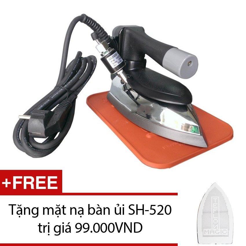 [NTT] Bàn ủi hơi nước công nghiệp Korea Penlican Pen 520 + Tặng mặt nạ bàn ủi SH-520