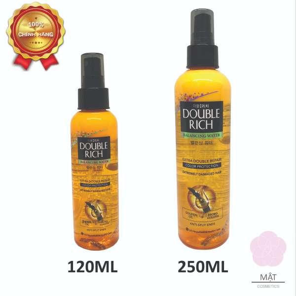 Xịt dưỡng tóc Double Rich chăm sóc chuyên sâu dành cho tóc nhuộm 120ml - 250ml