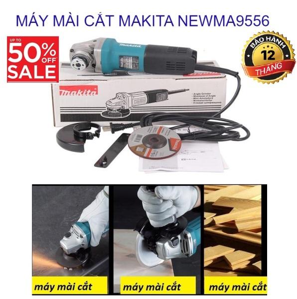 Máy mài cắt MAKITA NEW đa năng mài cắt sắt, tường, gỗ, tôn. - NEWMA9556 cao cấp với lưỡi cắt chắc chắn, động cơ máy khỏe, điện áp ổn định,công suất lớn, hiệu quả làm việc cao. An toàn khi sử dụng
