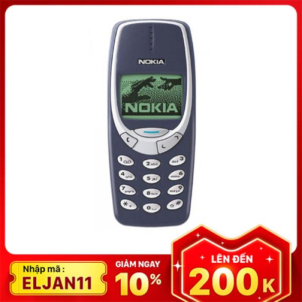 [Nhập ELJAN11 giảm 10%, tối đa 200k, đơn từ 99k]Điện thoại Nokia 3310 năm 2000 loa to rung mạnh