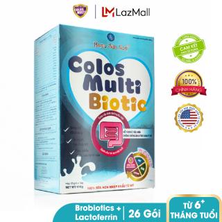 Sữa bột chuyên biệt cho trẻ táo bón, tiêu hóa kém Mama Sữa Non Colos Multi Biotic hộp 26 gói x 16g thumbnail