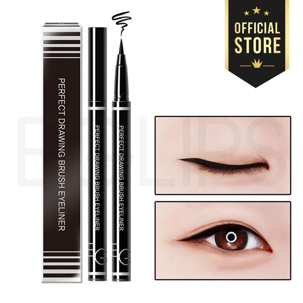 Kẻ mắt nước Eglips Perfect Drawing Eyeliner (Đầu bút lông mềm)