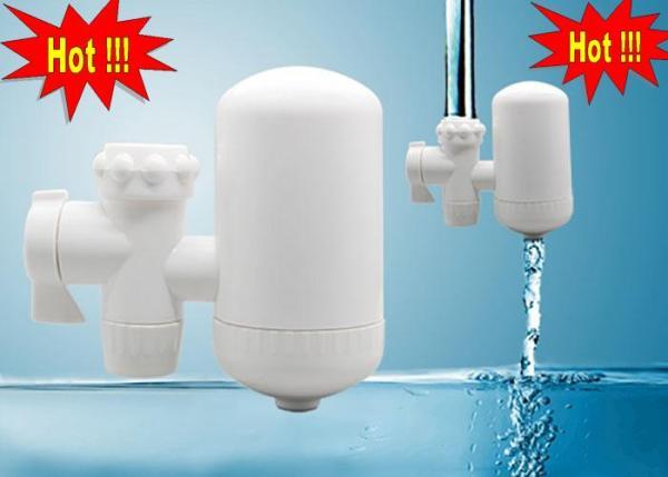 Bảng giá Thiết bị lọc nước phèn/ Thiet bi loc nuoc tai voi - Đ lọc nước tại vòi, Bộ lọc nước tự động tại vòi có thiết kế linh động, có thể gắn vào nhiều loại vòi nước khác nhau trong nhà bạn. Điện máy Pico