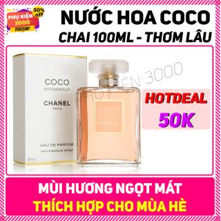 Nước hoa Cha nel Coco Mademoiselle 100ml - Dành cho mùa hè với hương thơm quyến rũ dịu mát thơm lâu, giá rẻ được mọi người ưa chuộng - nuoc hoa nu thumbnail