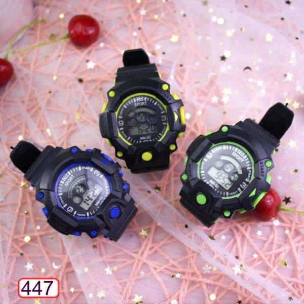 Nơi bán Đồng Hồ Nam Nữ SPORT 447 MM-80 Mặt Tròn Điện Tử Hot Trend