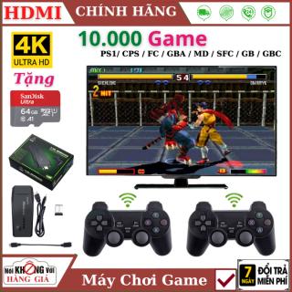 (Tặng thẻ 32GB Sandisk) Máy chơi game cầm tay 4 nút PS 3500 Game Ps1 Ps2 Nitendo switch FC Compact FC , kết nối HDMI, , playstation , Máy chơi game , Máy chơi game sup , Máy chơi game 4 nút , Máy chơi game nintendo switch , Máy chơi game mini thumbnail