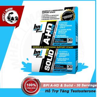 Viên test Hổ Trợ Tăng Sinh Lý Testosteron Và Phát Triển Cơ Bắp Bpi Bpisports AHD Lite Solid Authentic 100% thumbnail