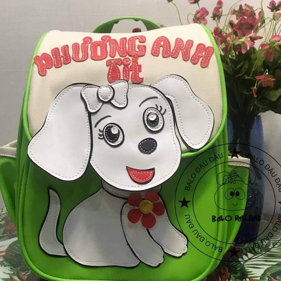 Giá bán Balo handmade, may tên  và hình  theo yêu cầu, dành cho trẻ mầm non