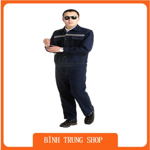 Bộ quần áo Jean Thợ điện thợ hàn bảo hộ hộ lao động