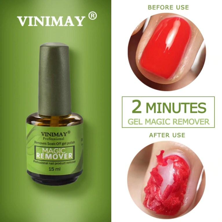 Nước gỡ phá gel Vinimay sơn lên chỉ 2-5 phút gel tự bong không cần ủ tốt nhất
