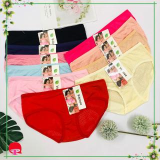 5 Quần lót Thái Lan coton thông hơi cao cấp freesize dưới 58Kg- BIBI shop- THunthai thumbnail
