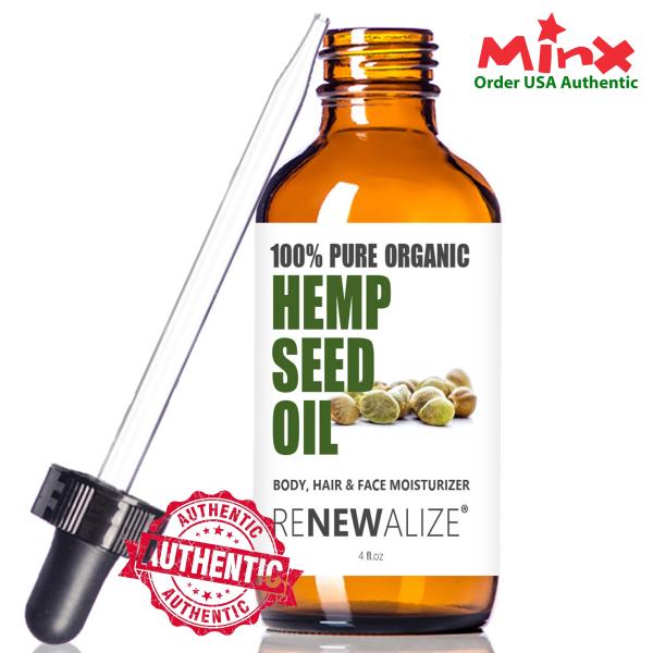 Hemp Seed Oil Renewalize - Dầu Hạt Gai - Hempseed oil - 4oz (118ml)