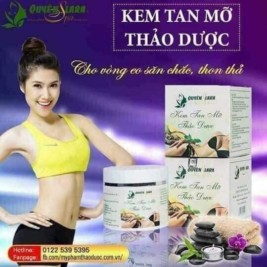 Kem Tan Mỡ – Herbal Slimming Cream