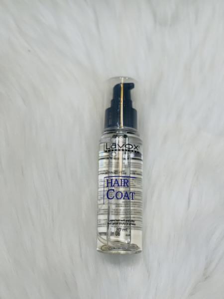 Tinh Dầu dưỡng bóng tóc Siêu mềm mượt thương hiệu chuyên nghiệp Lavox 80ml - Hair Coat