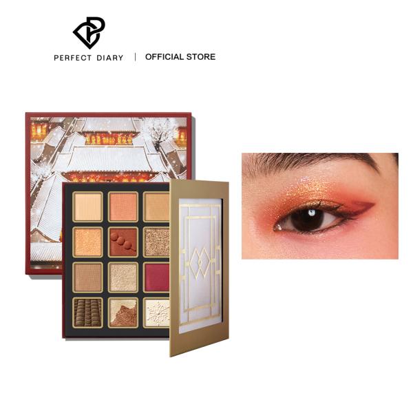 Bảng phấn mắt Prefect Diary 16 màu lấy cảm hứng từ phong cảnh trung quốc